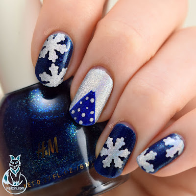 Holographic Christmas Nail Art WITHOUT Nail Art Tools ...