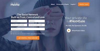 MeWe .. شبكة اجتماعية تركز على الخصوصية