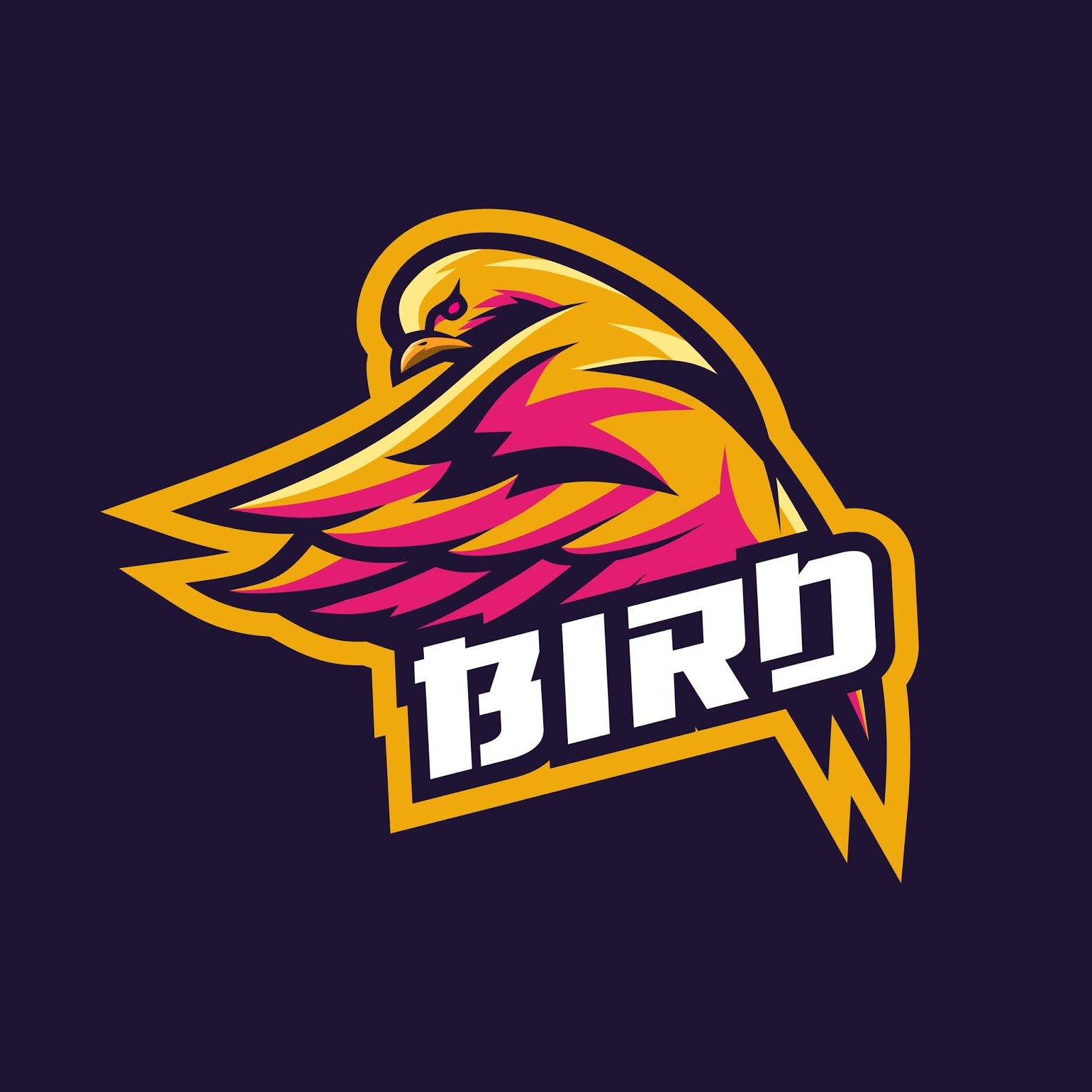 Bird Esport Logo Free Download Vector CDR, AI, EPS and PNG Formats