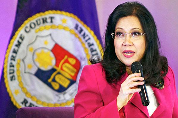 Sereno accepts Duterte's apology