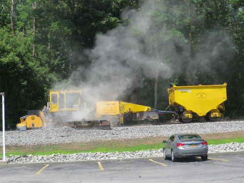 railroad maintenance vehicle