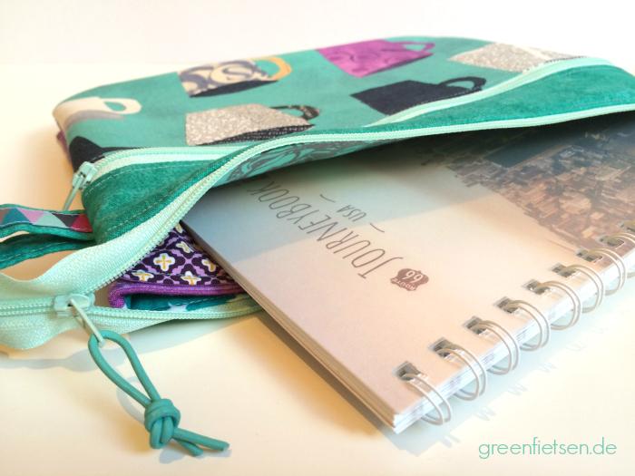 Fünf-Fach-Organizer | Taschen-Sew-Along 2016 - Januar