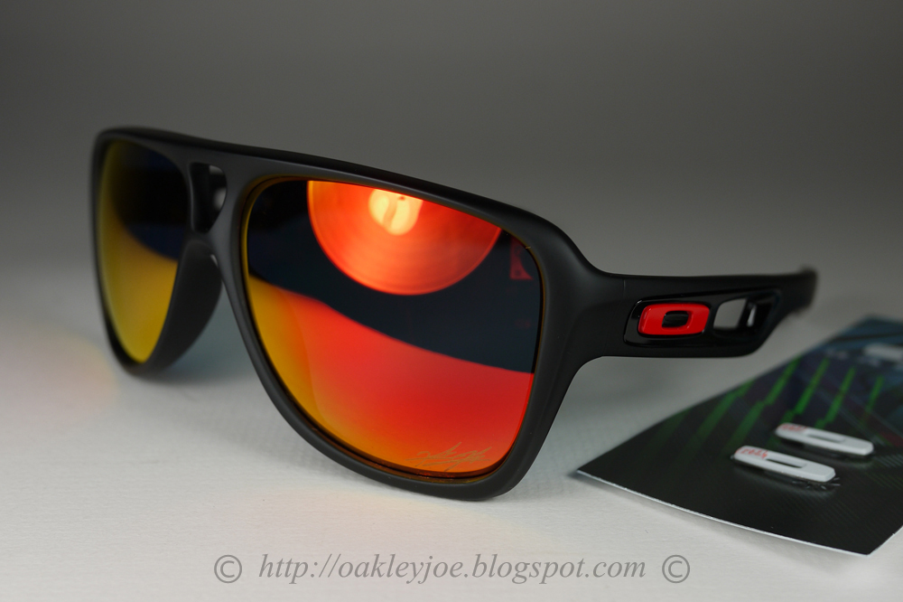 e088f8d7d7247 Oakley Oo9150 13 Ducati Dispatch Ii Matte Black Ruby Iridium ...