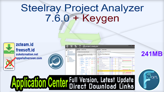 Steelray Project Analyzer 7.6.0 + Keygen_ ZcTeam.id