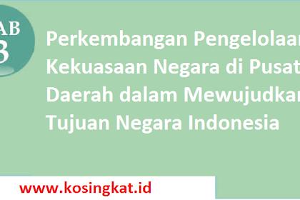 Kunci Jawaban PKN Kelas 12 Halaman 112 Uji Kompetensi 3