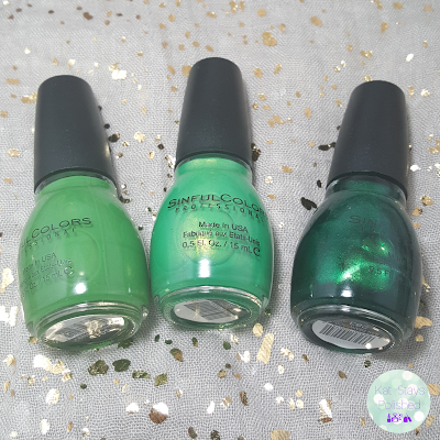 SinfulColors St. Patrick's Day 2016 | Kat Stays Polished