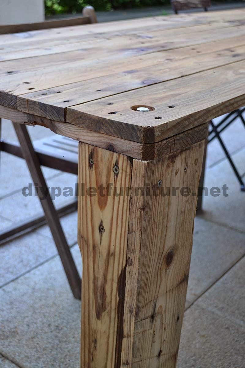 como hacer fcilmente una mesa con un europalet