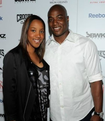 Taniqua Smith with her ex-husband