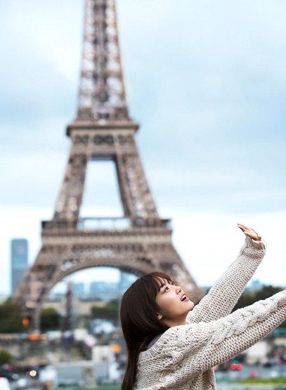 Nogizaka46 Mizuki Yamashita Photobook Pertama di Paris