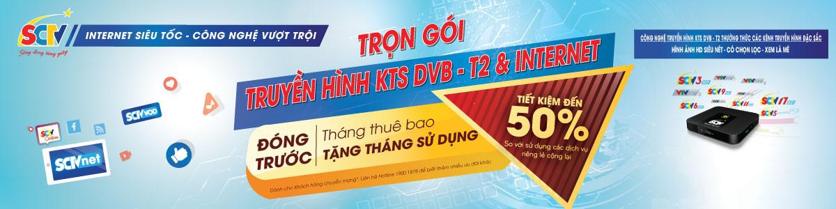 Dịch vụ trọn gói : Internet SCTV và Truyền hình cáp SCTV tại Hà Nội