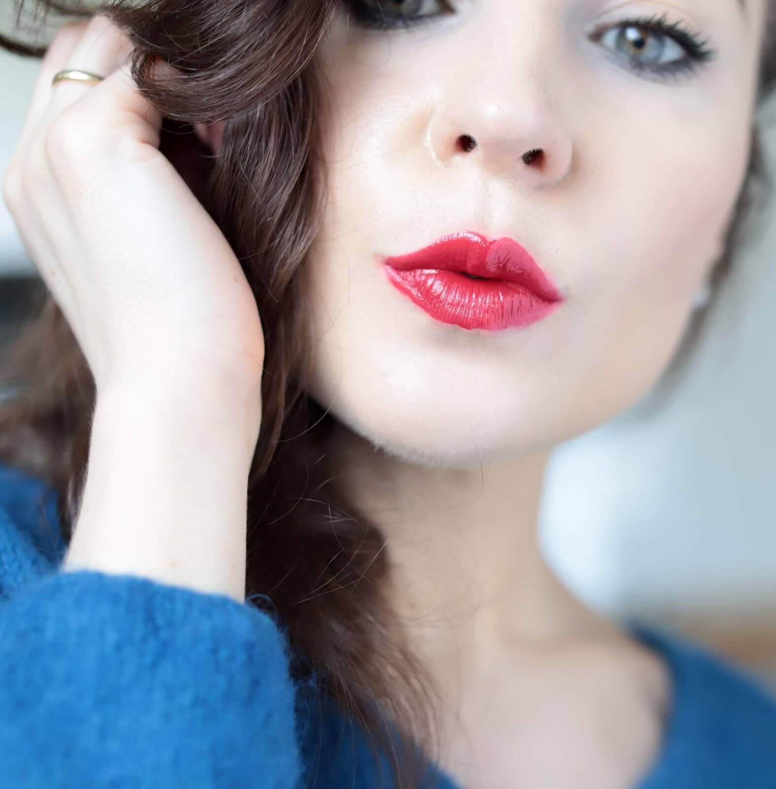 Kosas Weightless Lip Color Electra revue