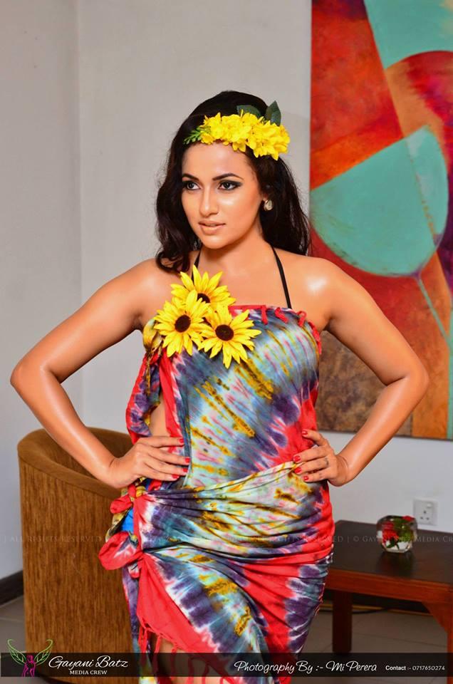 Sri Lankan popular actress and model Udari