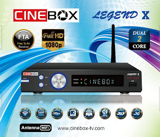 CINEBOX LINHA X DUAL CORE CORREÇÃO 22W ATUALIZAÇÃO CINEBOX%2BLEGEND%2BX
