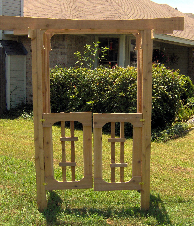 Fence Gate Arbor: Arbor Decal Galleries