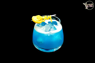 sour blue cocktails
