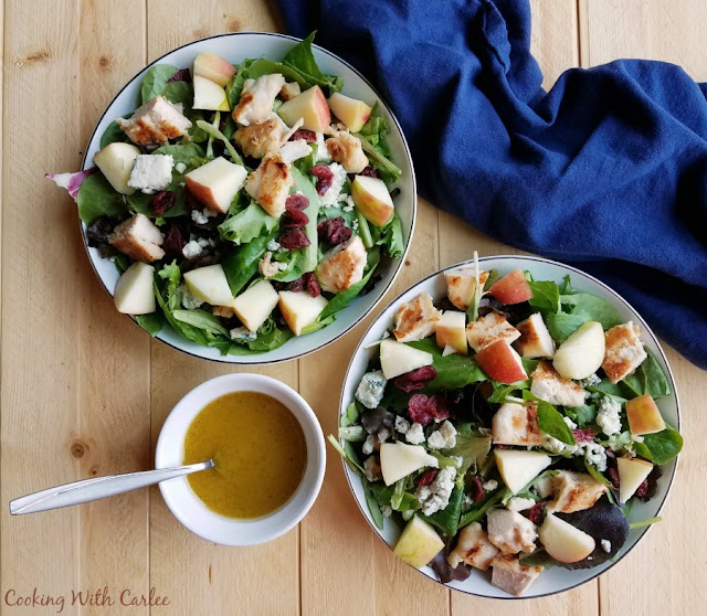 Fresh and Fun Fall Dinner Salad
