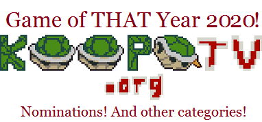 KoopaTV Game of THAT Year 2020 nominations