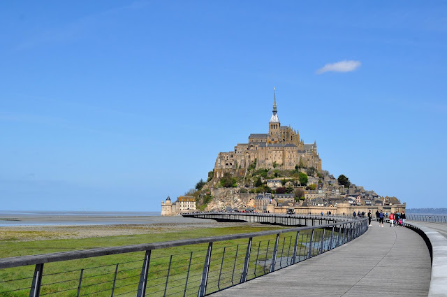 Notes from France - Mont St Michel photo by modernbricabrac