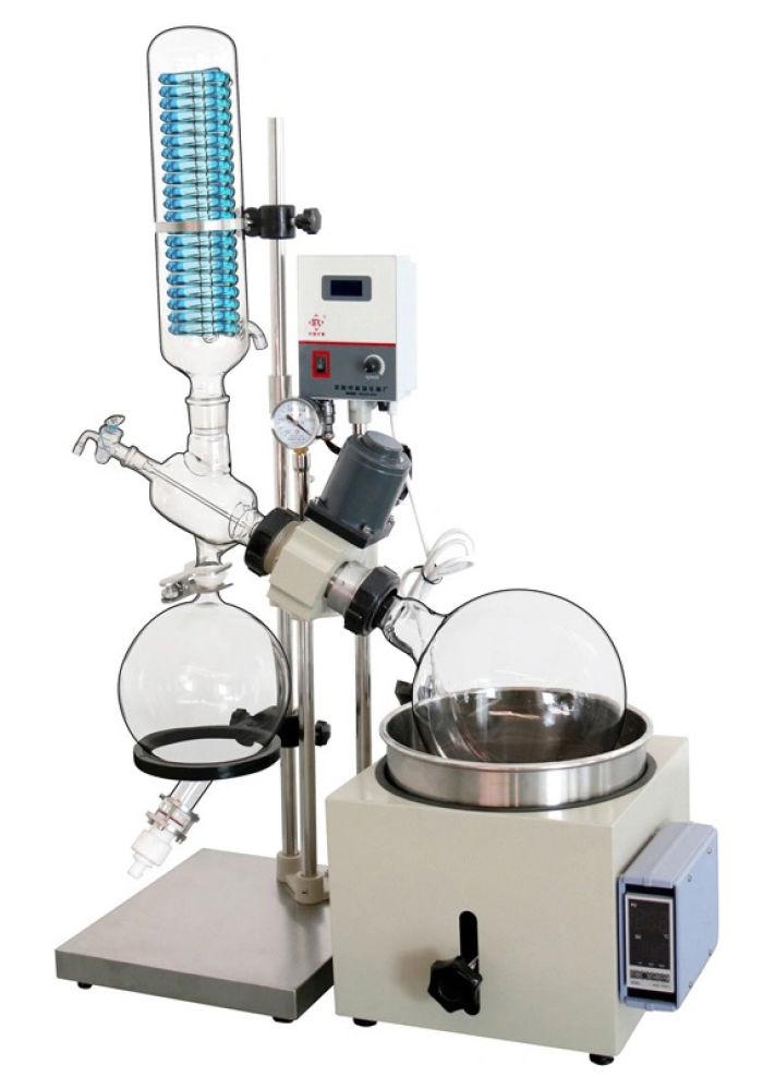 Equipo de destilación al vacío