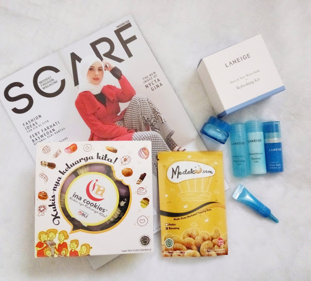 Scarf Magazine x Laneige