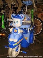 Sepeda Roda Tiga Sayang SY136 Tikus Full Body