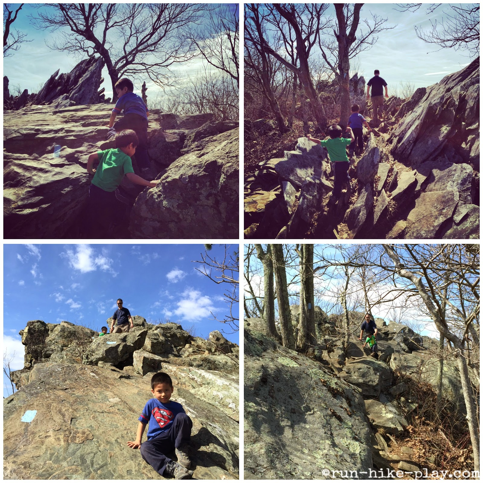 Shenandoah National Park Bearfence Scramble