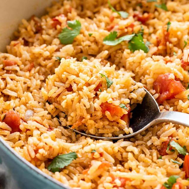 طريقة تحضير الأرز المكسيكي