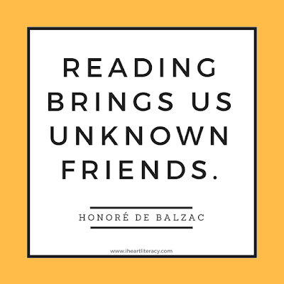 Reading brings us unknown friends. - Honore De Balzac