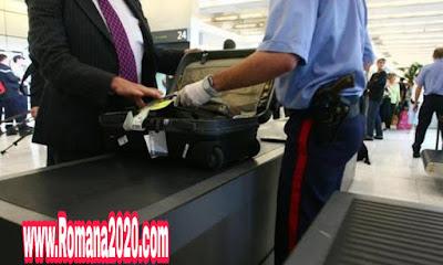 أخبار المغرب حجز قطعة من الذهب الخالص تزن كيلوغراما واحدا بمطار محمد الخامس