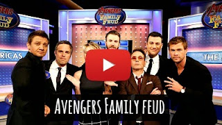Watch Team Avengers splits up into Bruce Banner's team The America and Tony Stark's team The Man for a game of family feud with host Jimmy Kimmel before they take on the powerful supervillain Ultron via geniushowto.blogspot.com Avengers 2
