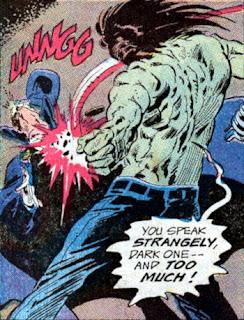 Phantom Stranger #26, Spawn of Frankenstein vs Phantom Stranger