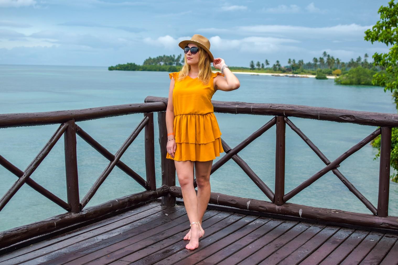 Żółta sukienka ze sklepu Avocado Style