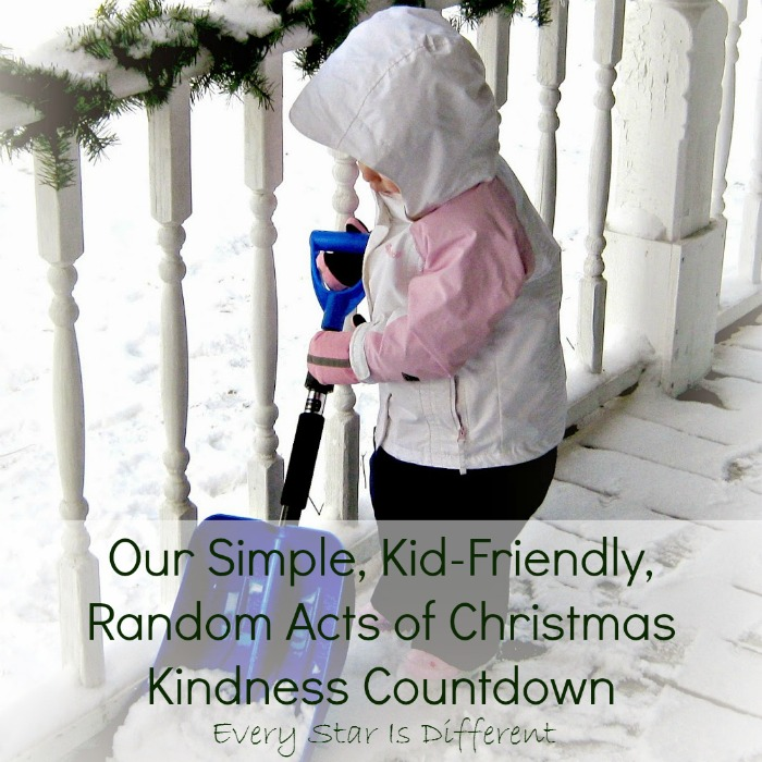 Our Simple Kid Friendly Random Acts of Christmas Kindness