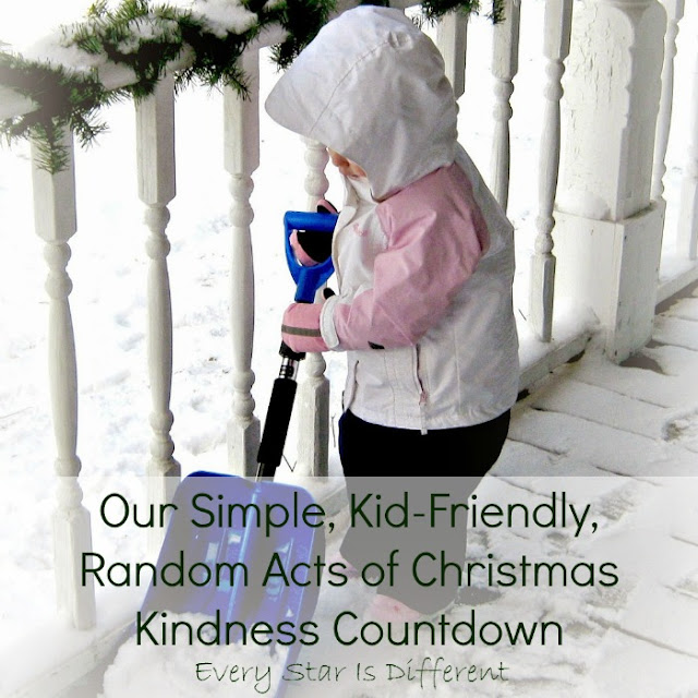 Random Acts of Christmas Kindness for famlies