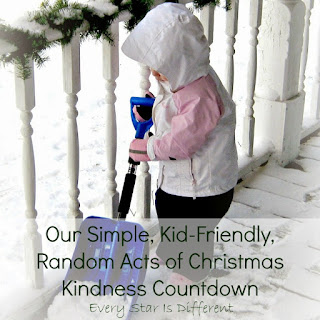 Our Simple, Kid-Friendly Random Acts of Christmas Kindness Countdown