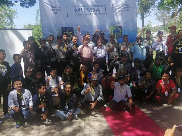 MUSDA Perdana Asosiasi Pokdarwis Lombok Timur