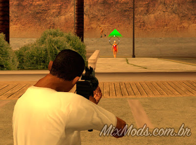 gta sa mod fix mouse vertical sensitivity mirar cj mirando arma