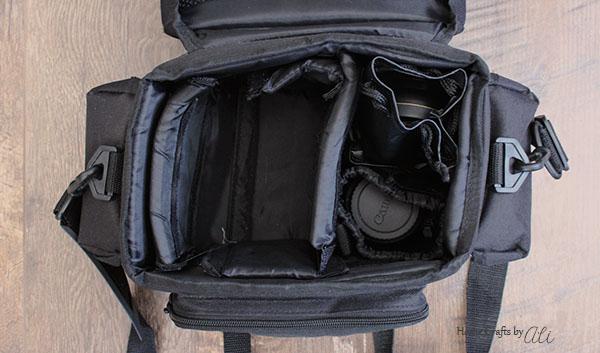 soft side adjustable camera bag