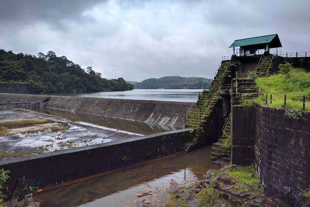 Sharavati river Check dam near Kargal