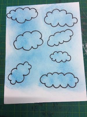 Inked doodled images