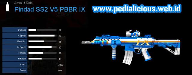Detail Statistik Pindad SS2 V5 PBBR IX