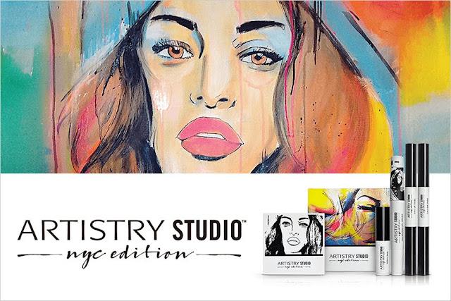 artistry studio polska paleta do makijażu