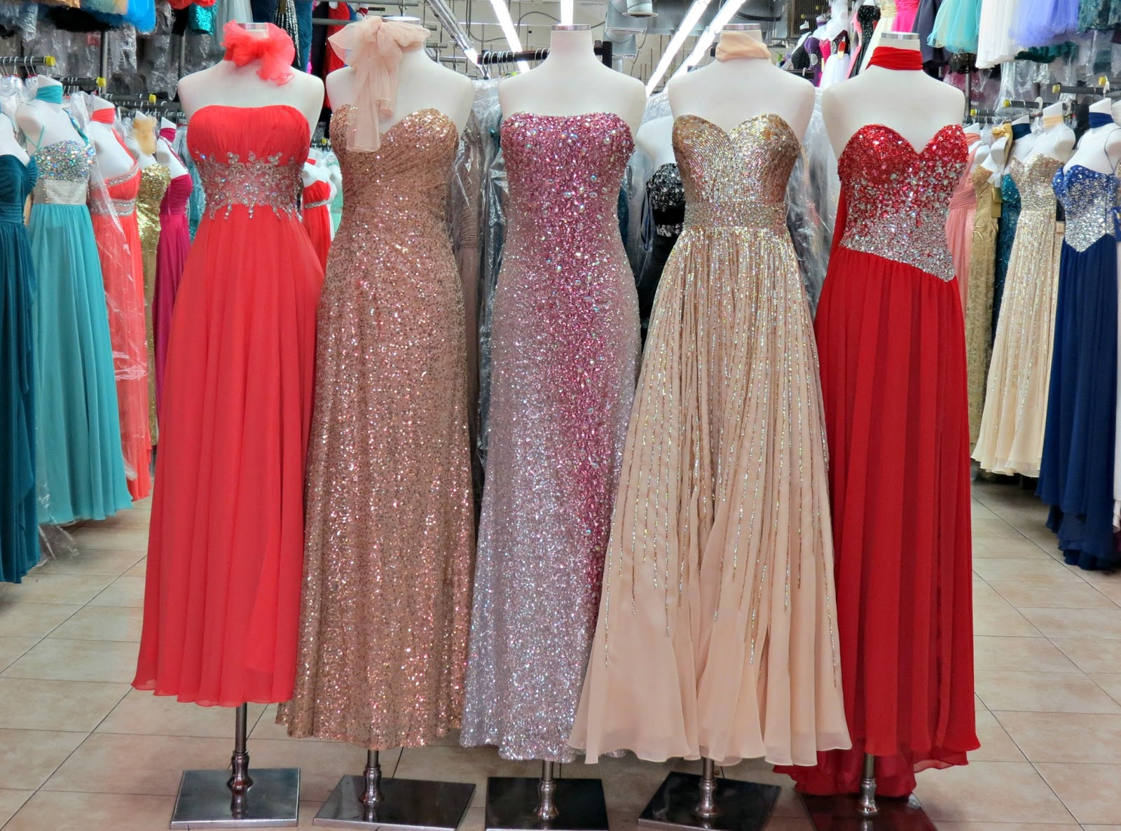The Santee Alley Top Star Prom And Special Occasion Gowns