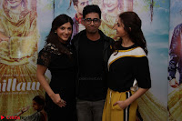 Anushka Sharma with Suraj Sharma and Mehrene Kaur Pirzada at Interview For movie Phillauri 2.JPG