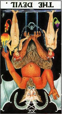 The Devil Reversed Tarot Card Meaning- Major Arcana