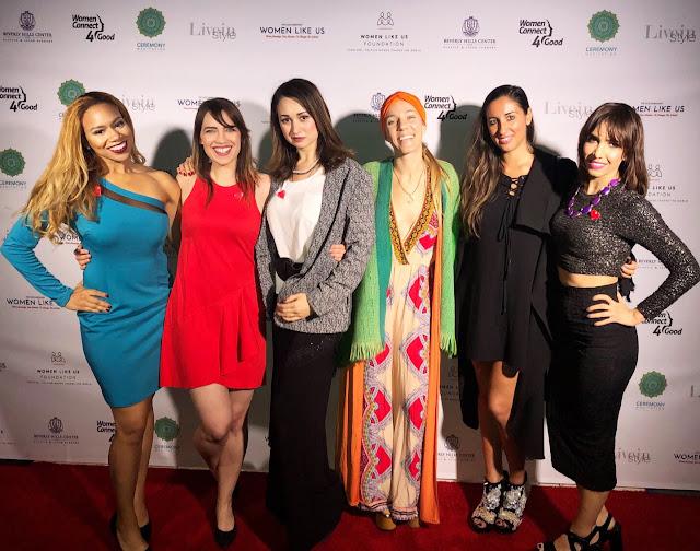 Women Like Us Foundation Ambassador Daisi Pollard Sepulveda at Looking Good, Doing Great fundraiser