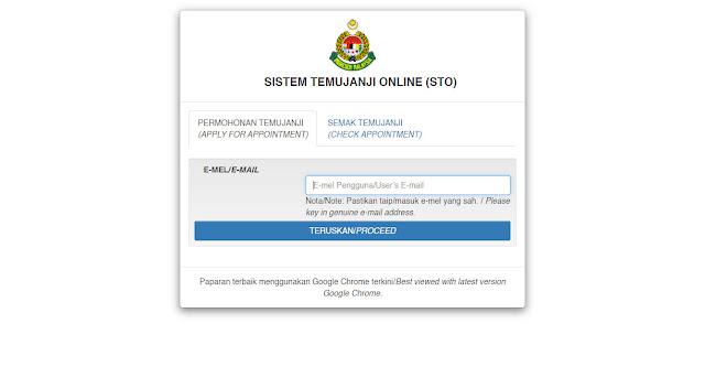 Cara Buat Janji Temu Sebelum Melakukan Urusan Di Pejabat Imigresen UTC