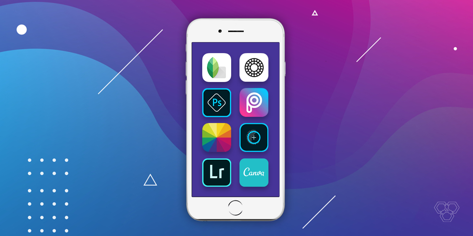 أفضل 10 تطبيقات لتحرير الصورلتحسين صورك وإضافة مؤثرات مميزة إليها للجميع انضمة التشغيل  iOS و Android