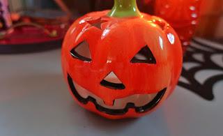 Inspiracje na Halloween dynia z pepco