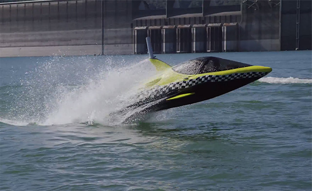 Robotic dolphin and flying water car